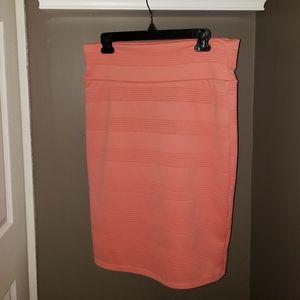 LuLaRoe Coral Pencil Skirt